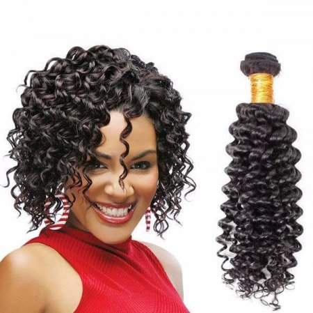 South Africa Popular Style  Indian Curly Wave Human Hair 100g