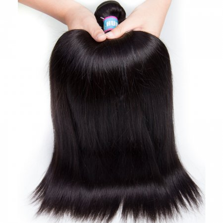 1pc Brazilian Silky Straight Virgin Hair 100g