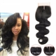 Peruvian Virgin Body Wave Lace Closure Hair
