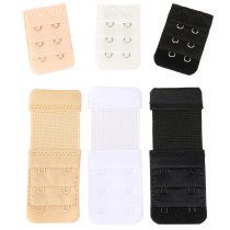 Closecret Women's Bra Back Strap Extenders With 1 to 3 Hook Optional