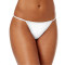 Cotton G-string, Closecret Women Panties Simple Thongs Lightweight G-string& T-back(2 Styles)