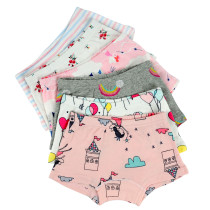 Closecret Kids Series Baby Underwear Little Girls' Cotton Boyshort Panties (Pack of 6)