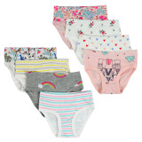Closecret Kids Series Soft Cotton Baby Panties Little Girls' Assorted Briefs(Pack of 8)