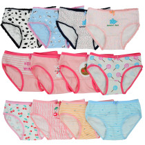Closecret Toddler Soft Cotton Underwear Baby Panties Girls' 12-Pack Assorted Briefs