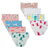 Closecret Kids Series Soft Cotton Baby Panties Little Girls' Assorted Briefs(Pack of 8)