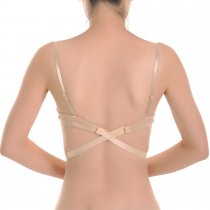 Closecret Women's Adjustable Low Back Converter Straps (Pack of 3)