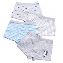 Closecret Kids Series Baby Underwear Little Boys' Cotton Boxer Briefs (Pack of 4)