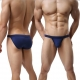 Men's Briefs Sexy Seamless Underwear Low Rise Bikini Bulge Enhancing(2pcs/lot)