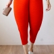 Fried Chicken Pants  2017 Ladies Fashion Loose Fancy Pants(pack of 1,red)