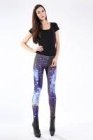 Multicolored Fancy Galaxy Leggings L8711