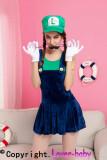 Pretty Plumber Costume L15161-2