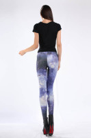 Multicolored Fancy Galaxy Leggings L8710