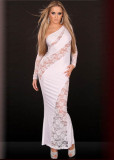 One-Shoulder Sexy Long Gown L5053-1