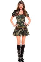 Sexy Army Brat Costume L15212