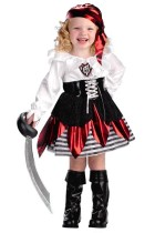 Girls Petite Pirate Toddler Costume L15294