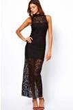 Polo Lace Maxi Dress L51153