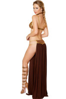 Star Wars Cosplay Sexy Princess Leia Slave Costume 15366