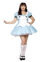 Plus Size Miss Alice Costume P1115