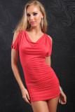 Sexy Halter Dress Red L2290-1