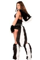 Deluxe Sexy Flower Skunk Furry Costume L1405