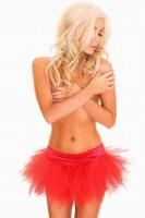 Red  Short Petticoat TY030-2