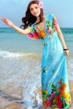 Lovely Sweetheart Floor-Length Beach Dresses L3816-2