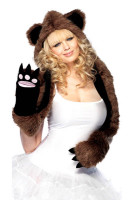 Bear Hood With Paws TY919