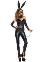 Leather Lady Bunny Costume L15321