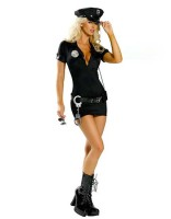 My Way Patrol Police Costume L1110  M,L,XL