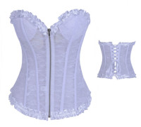 Plus Size Classic Corset with G-string  L4254-3