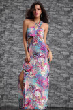New Coming Long Gown Pink L5055-2