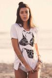Bikini Print T Shirt