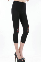 Chinese Opera Black Short Legging L371