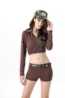 Sexy Soldier Babe Costume L15406
