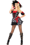 Buccaneer Beauty Costume L15143