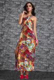 New Coming Long Gown Red  L5055-3