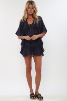 Sundance Cover-up In Navy L38465