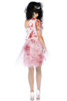 Bloody Evil Putrid Prom Queen Dress Outfit Adult Women's Hallowe
