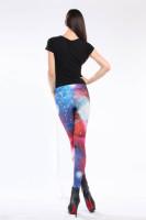 Multicolored Fancy Galaxy Leggings L8705
