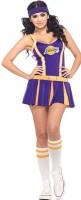 Lakers Cheerleader Costume L1496
