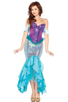 Disney Princess Deluxe Ariel Adult Costume L1401