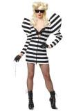 Lady G Prison Dress Costume L1399