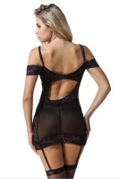 Sexy Back Hollow Out Chemise L28031-2