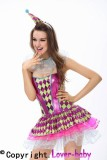 Sassy Party Clown Costume L15105