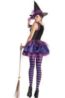 Purple Classic Starry Night Witch Costume  L15138