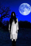 Corpse Sadako Bride Dress For Halloween L15411-2