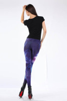 Multicolored Fancy Galaxy Leggings L8723