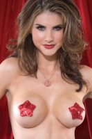Red Star Sequin Pasties L9718-1