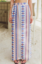 Chiffon Beach Skirt L532