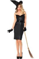 Black  Vintage Witch Costume L15134